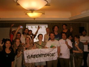 Greenpeace mobile conference 2009