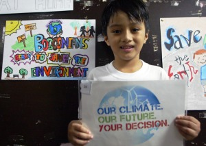 Bosconians join International Day of Climate Action
